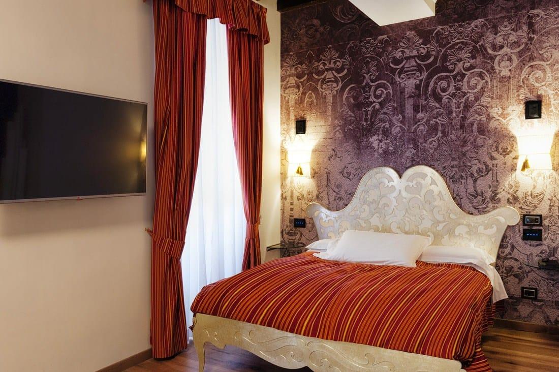AVE al Ripetta Palace, l'eleganza di un hotel 'touch'