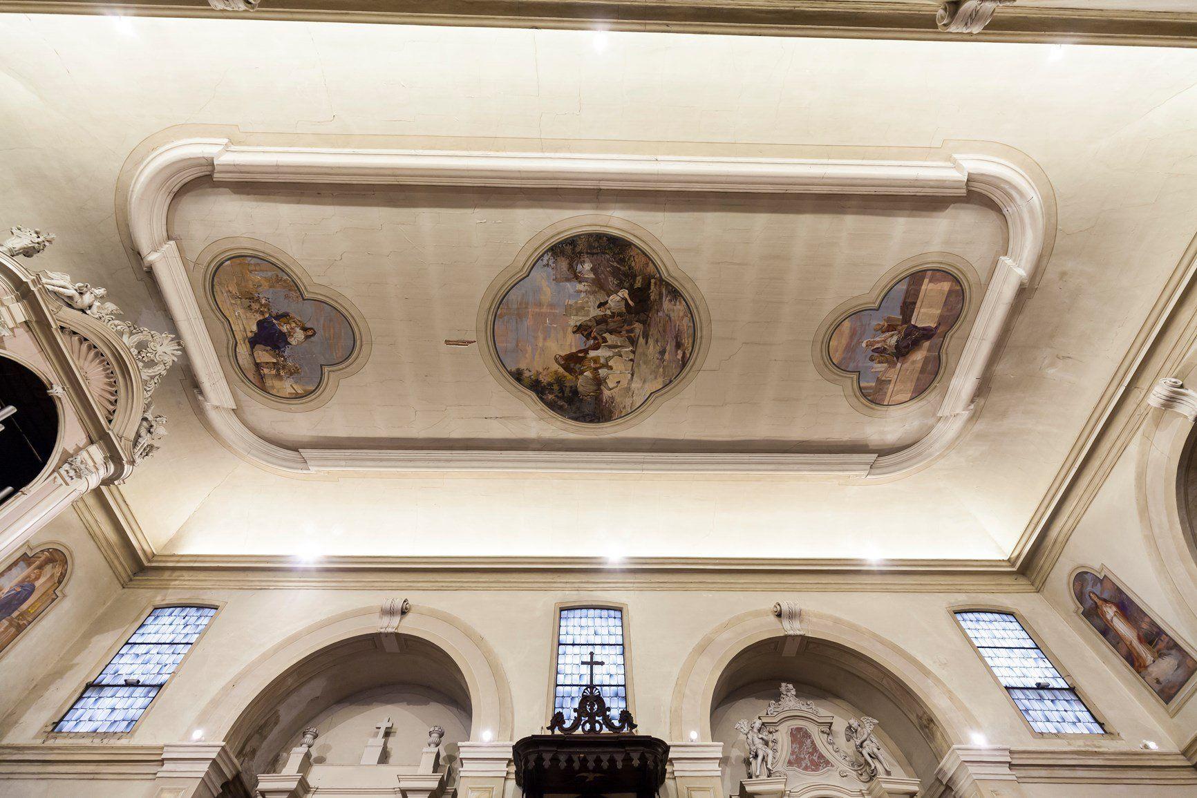 AERtetto per la Chiesa di San Martino Vescovo di Venezze