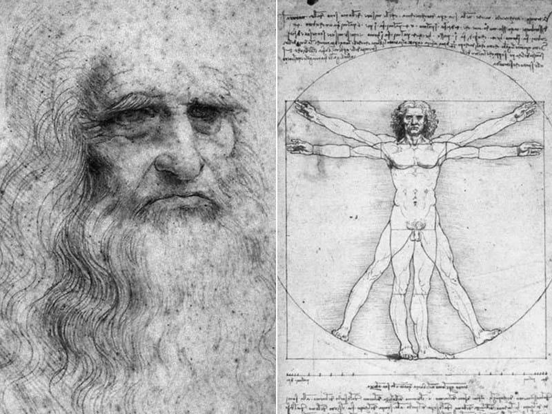Un'opera d'arte ispirata al genio di Leonardo da Vinci