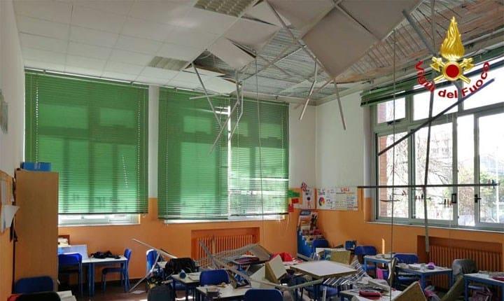 Scuole, Cittadinanzattiva: un crollo ogni 4 giorni di scuola