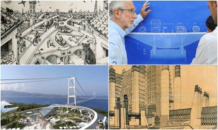 'I ponti invisibili', le strutture pensate ma mai realizzate