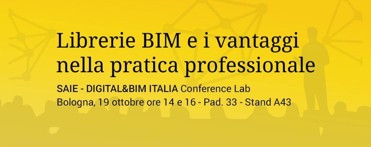 BIM.archiproducts a Digital&BIM Italia Conference Lab