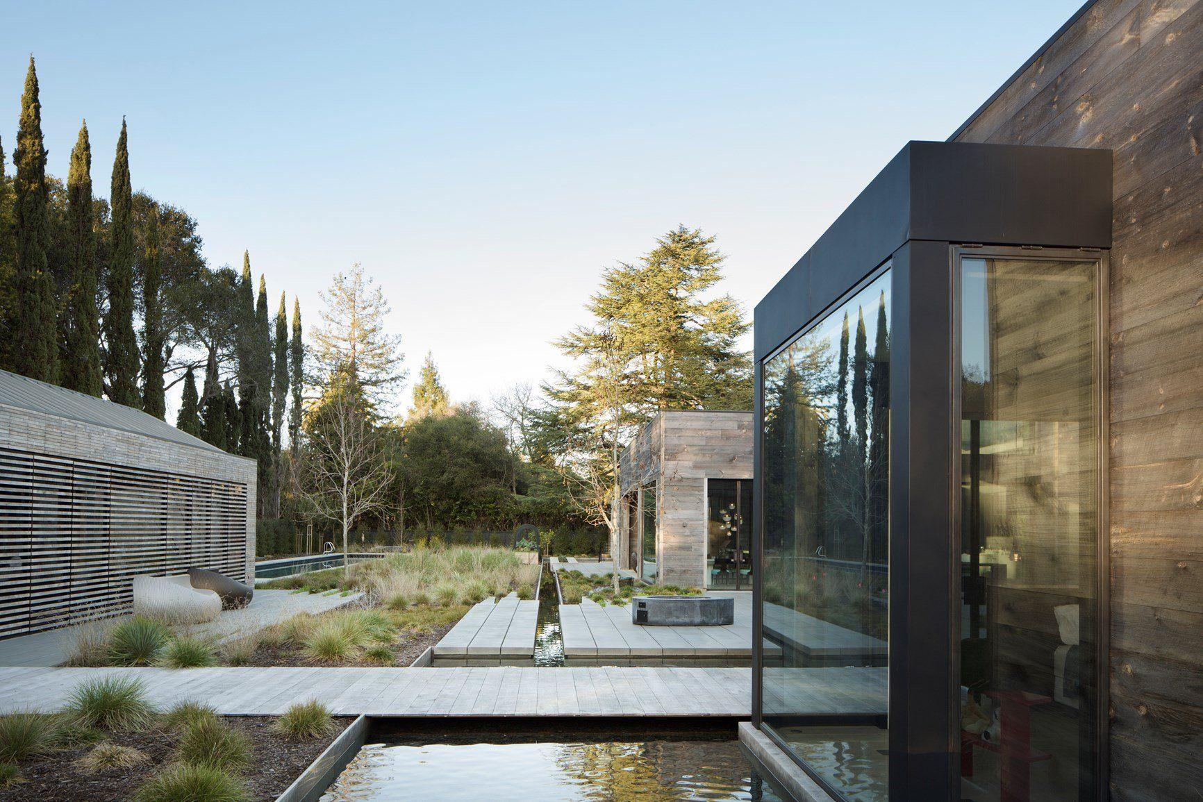 Un'abitazione californiana ispirata all'arte di Escher