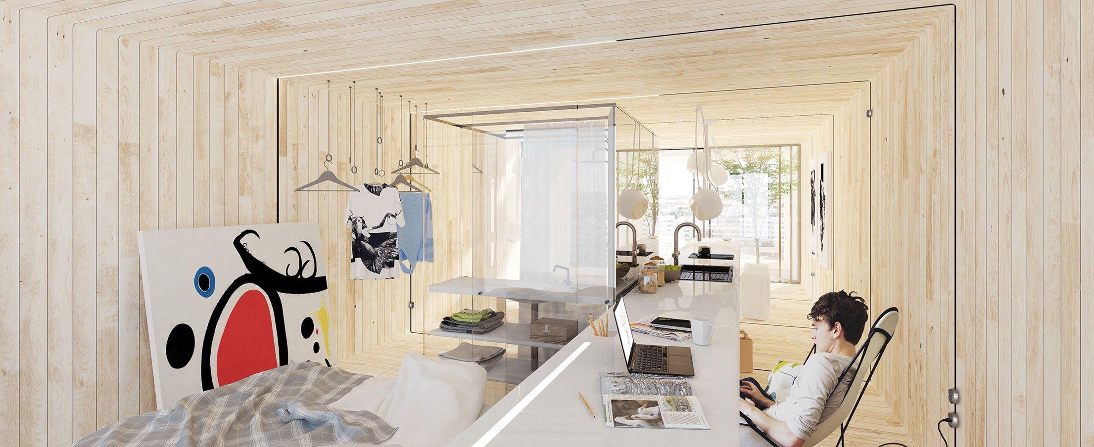 Il futuro dell'abitare si costruisce a Gubbio con la tecnologia dei sistemi in alluminio Schüco