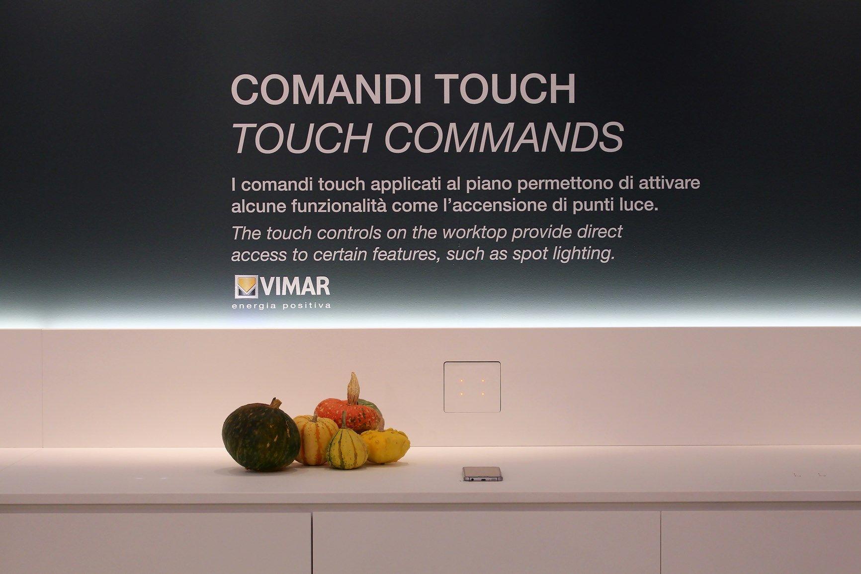 Lapitec e Vimar insieme per il piano cucina total touch