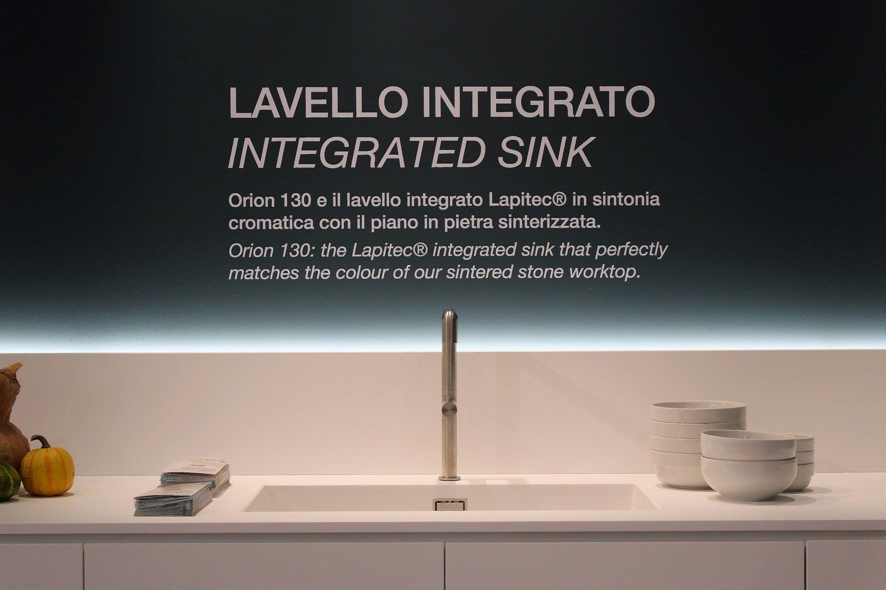 Lavello in Lapitec® ORION By Lapitec