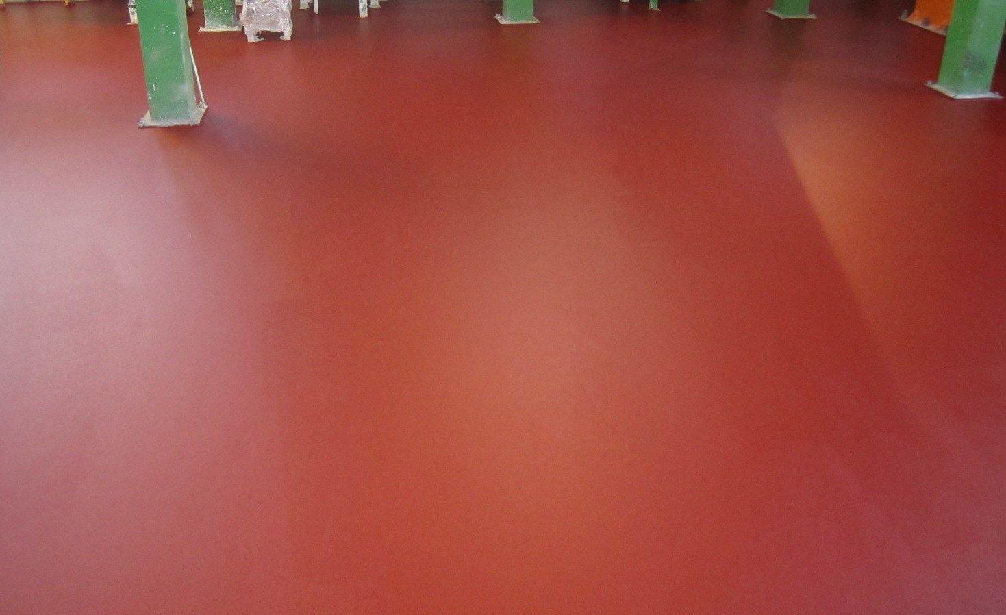 Ucrete, il pavimento più resistente per un'applicazione davvero dolce