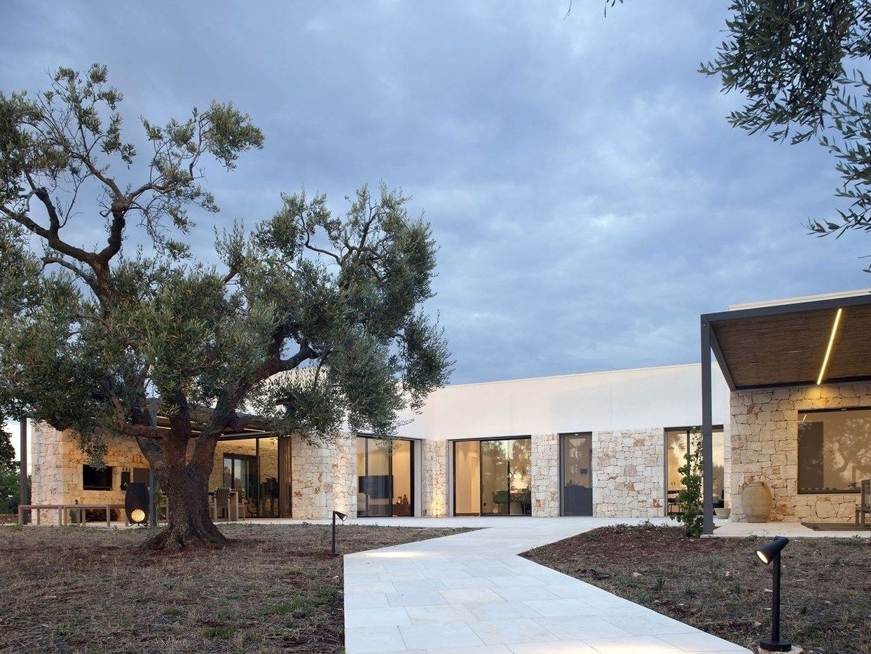 Una casa-studio nella campagna pugliese