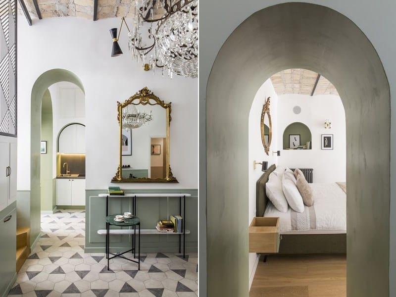 Le inaspettate geometrie di Casa Moreno