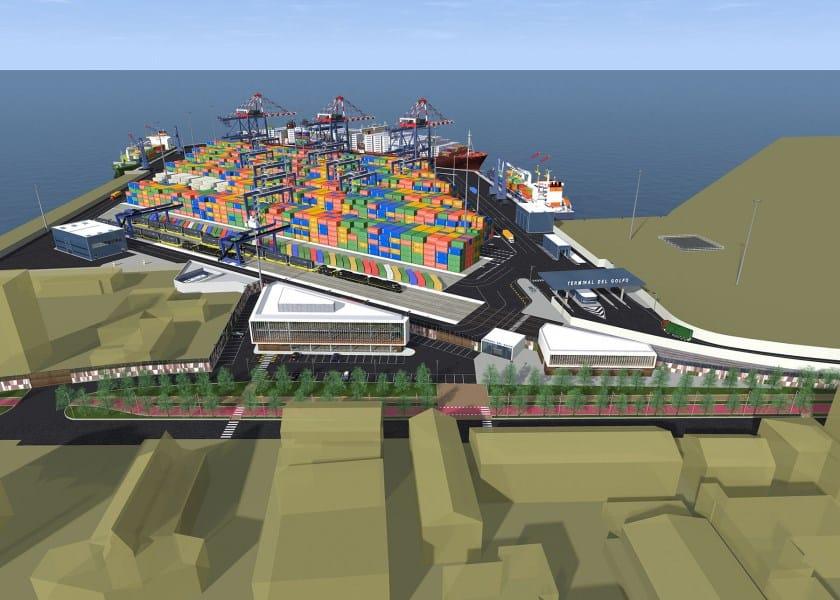 Tekla Structures con Exa Engineering per il Terminal del Golfo di La Spezia
