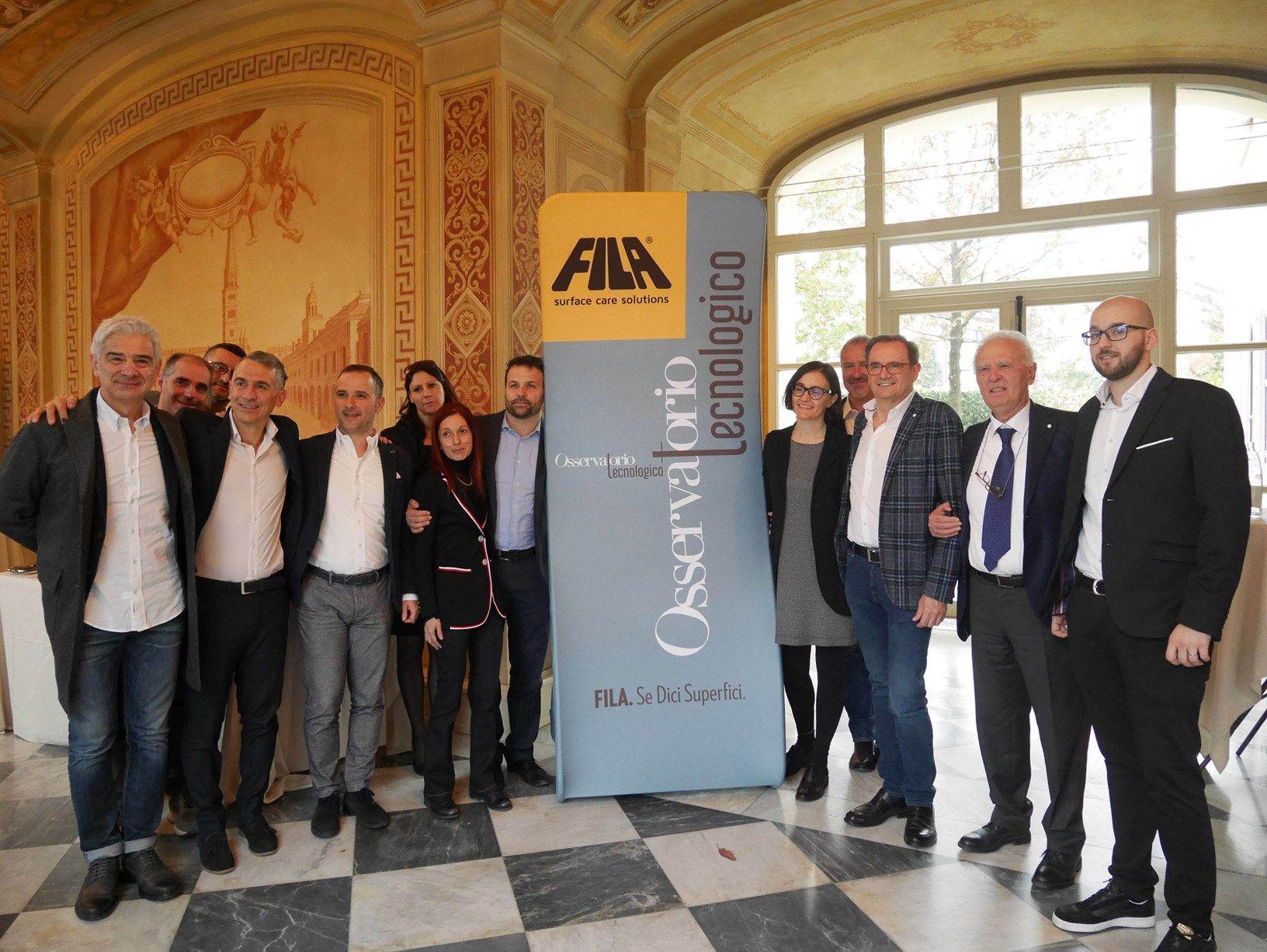 FILA per l'Osservatorio Tecnologico: la sinergia tra gli attori del fine linea