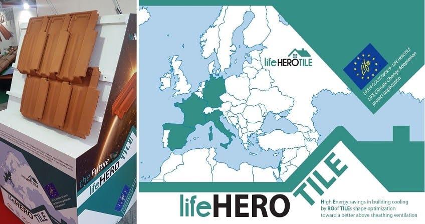 Terreal SanMarco alla conferenza finale del progetto di ricerca Life Herotile