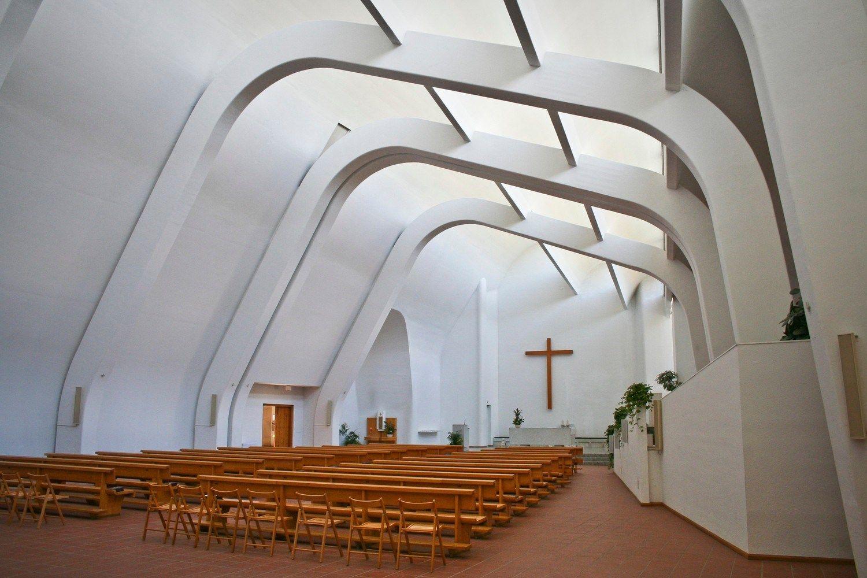 Alvar Aalto e la lunga storia della chiesa di Riola