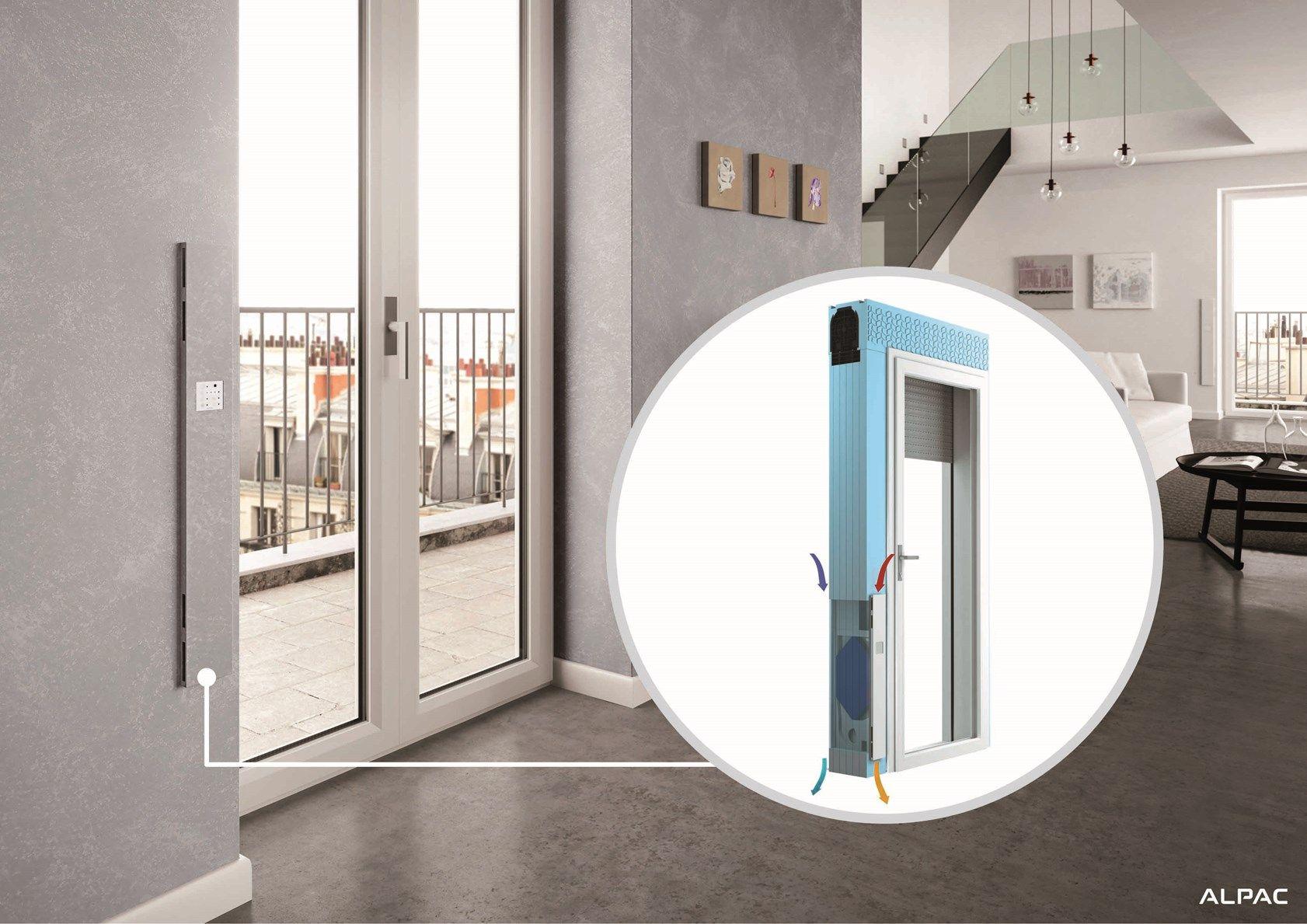 Ingenius VMC by Alpac: la ventilazione smart è quella integrata al monoblocco finestra