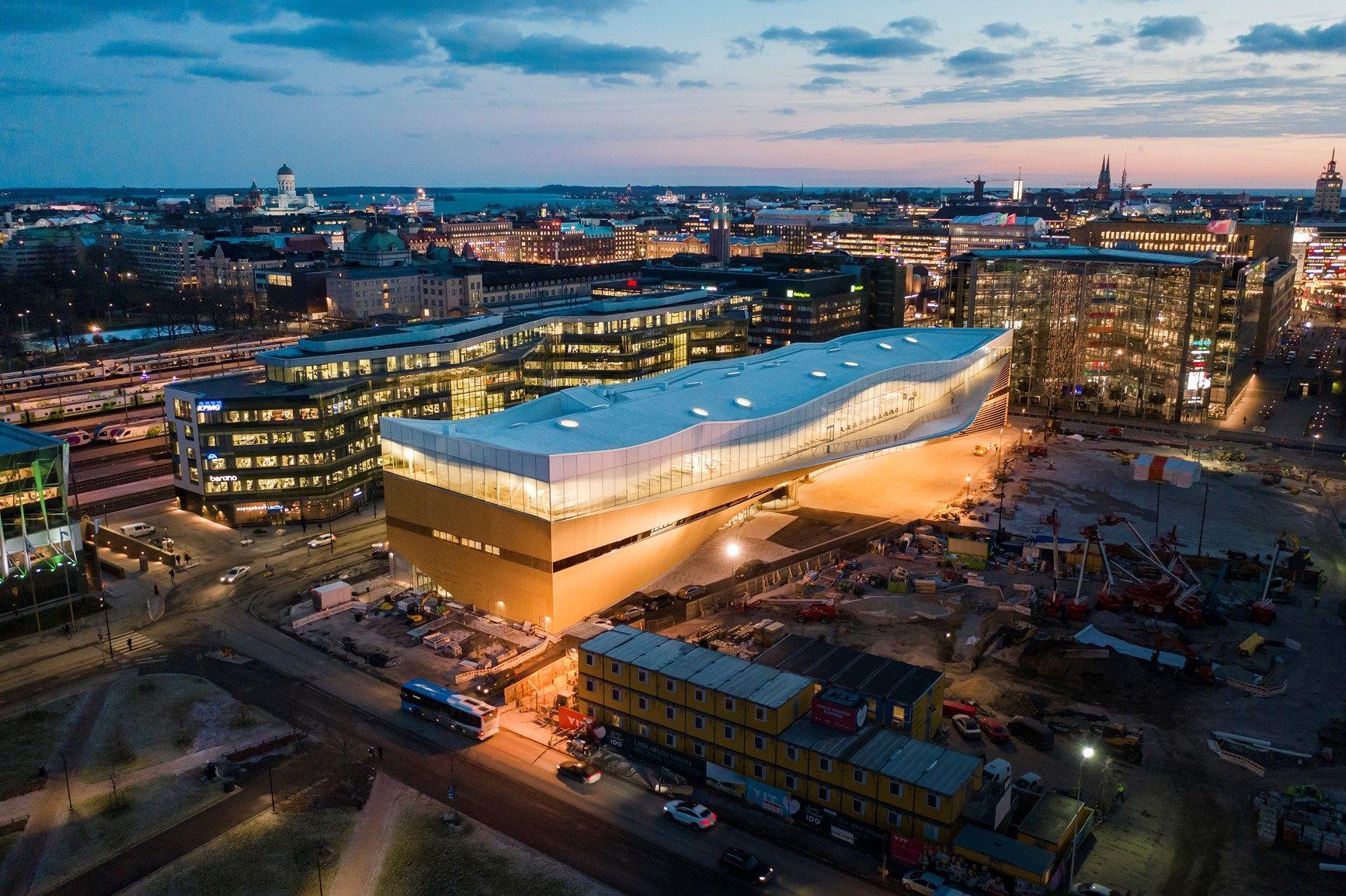 Oodi Helsinki Ph. © TuomasUusheimo