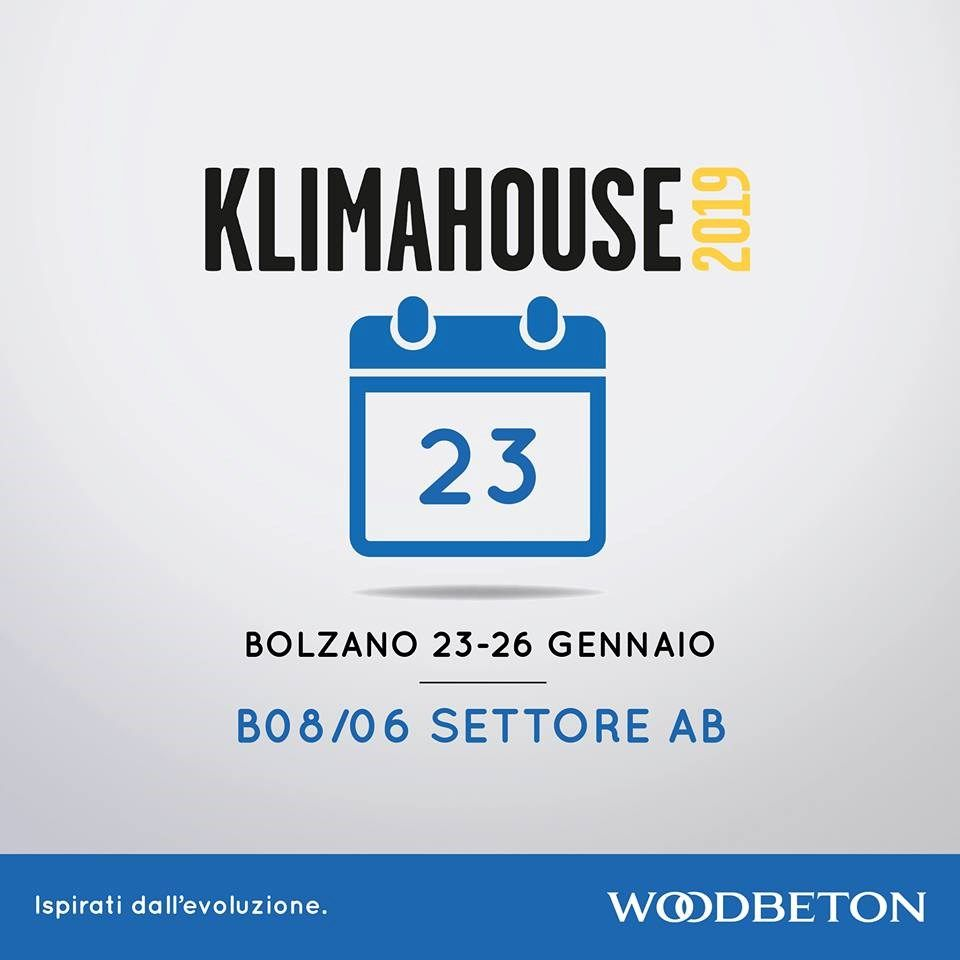 Wood Beton a Klimahouse 2019
