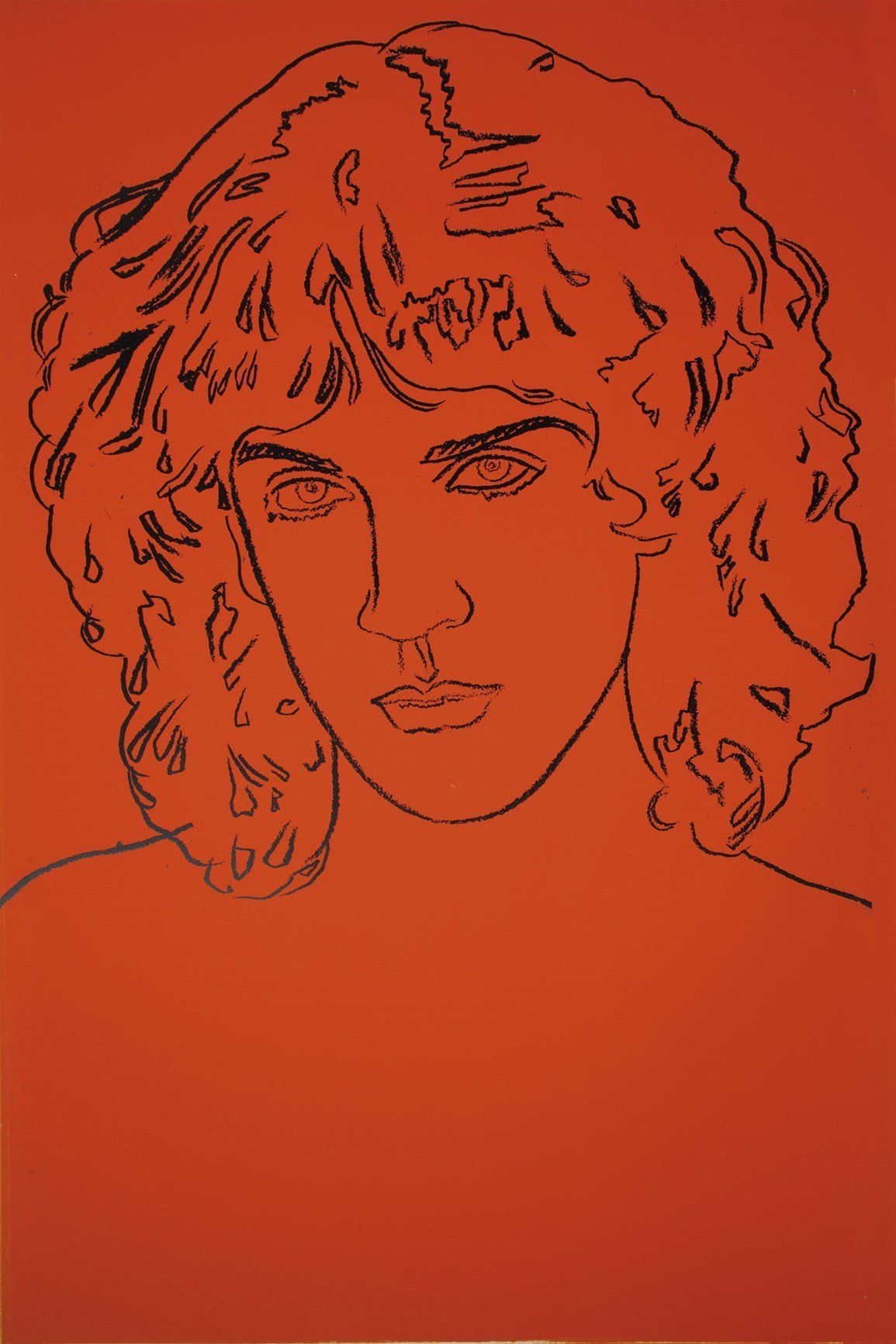 Andy Warhol, Billy Squier, 1982