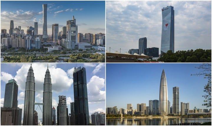 Toccare il cielo con un dito dai grattacieli più alti del 2018