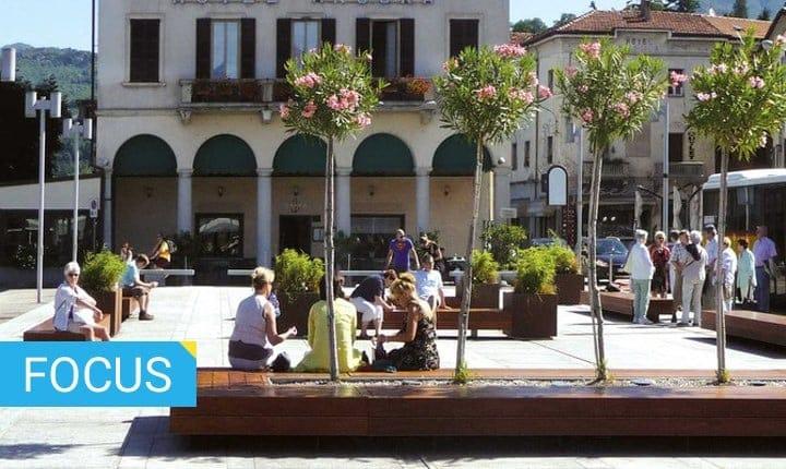 Spazi pubblici, come scegliere l'arredo urbano