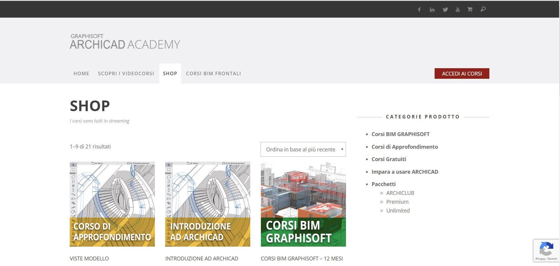 La nuova piattaforma e-learnig di ARCHICAD per la formazione BIM