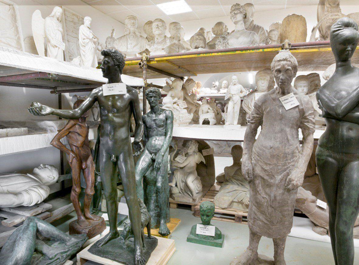 Mauro Fiorese, Treasure Rooms della Galleria Nazionale d'Arte Moderna - Roma, 2014