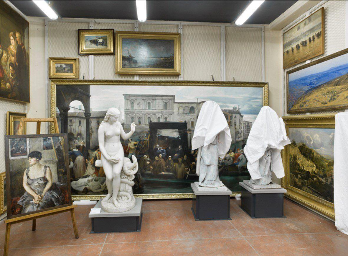 Mauro Fiorese, Treasure Rooms della Galleria d'Arte Moderna - Torino, 2014