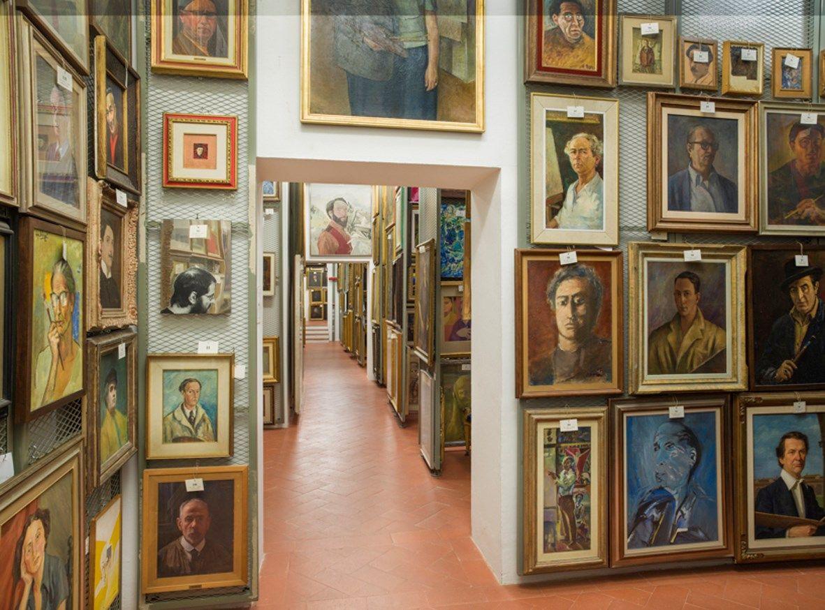 Mauro Fiorese, Treasure Rooms della Galleria degli Uffizi - Firenze, 2014