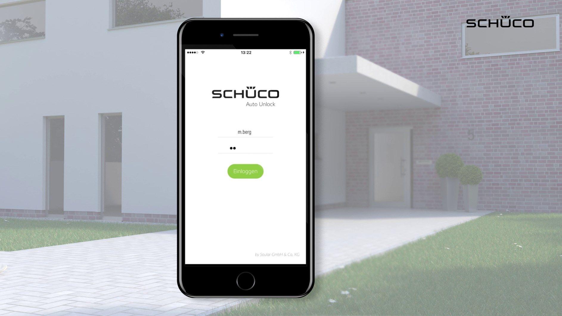 Schüco BlueCon: addio chiavi di casa,  benvenuta tecnologia intelligente