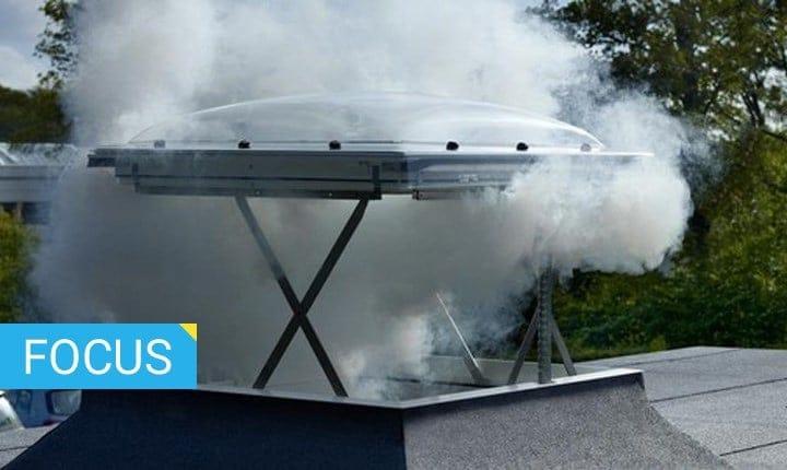 Sicurezza antincendio, gli evacuatori di fumo e calore