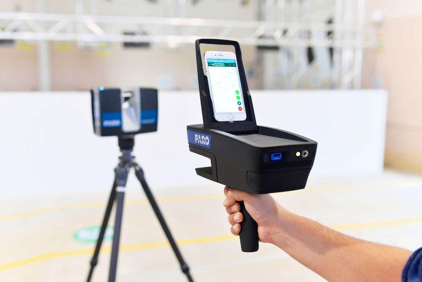 CAM2® presenta il mapper di planimetrie portatile ScanPlan™  per i professionisti AEC