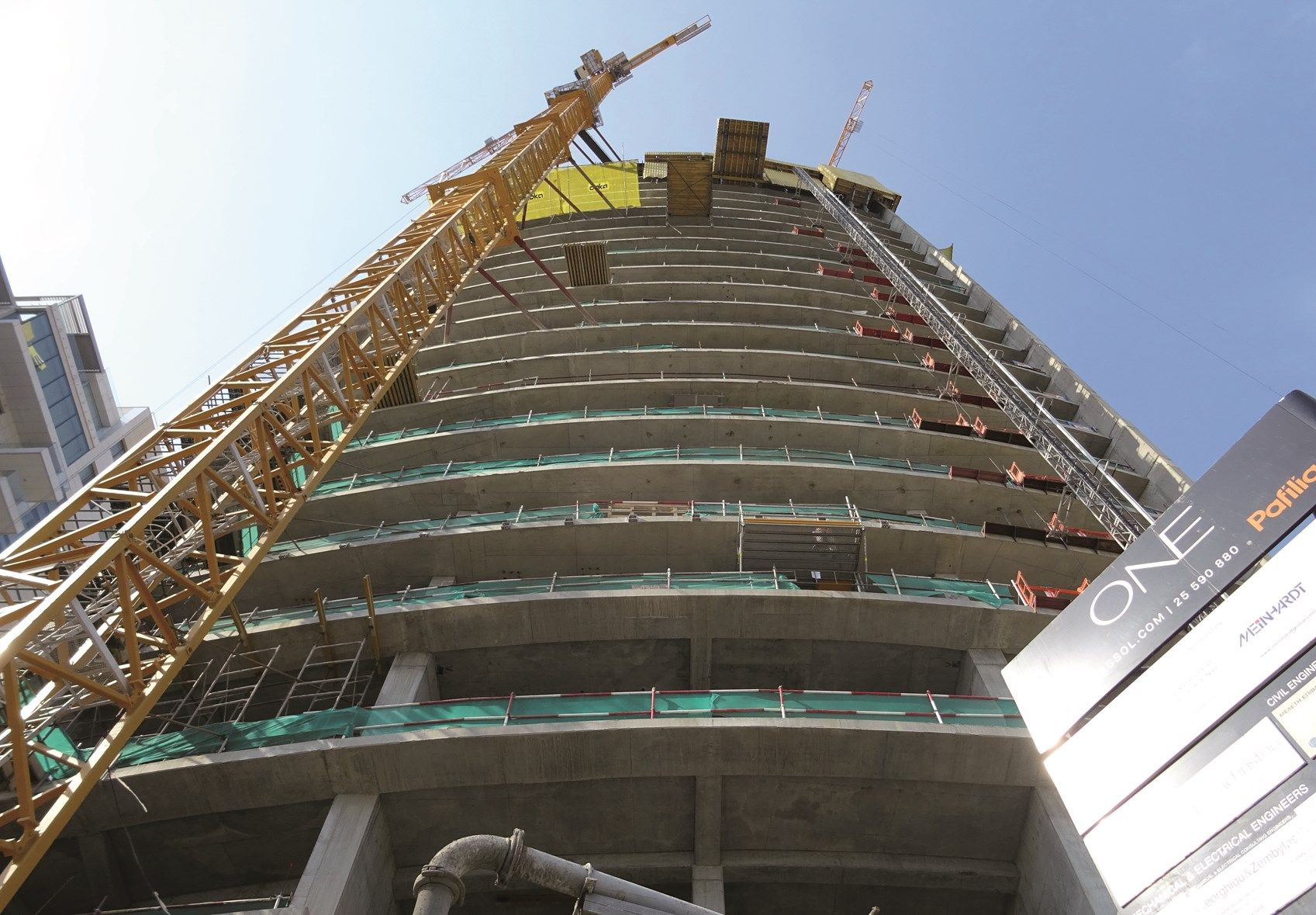 BASF per la One Tower a Limassol a Cipro