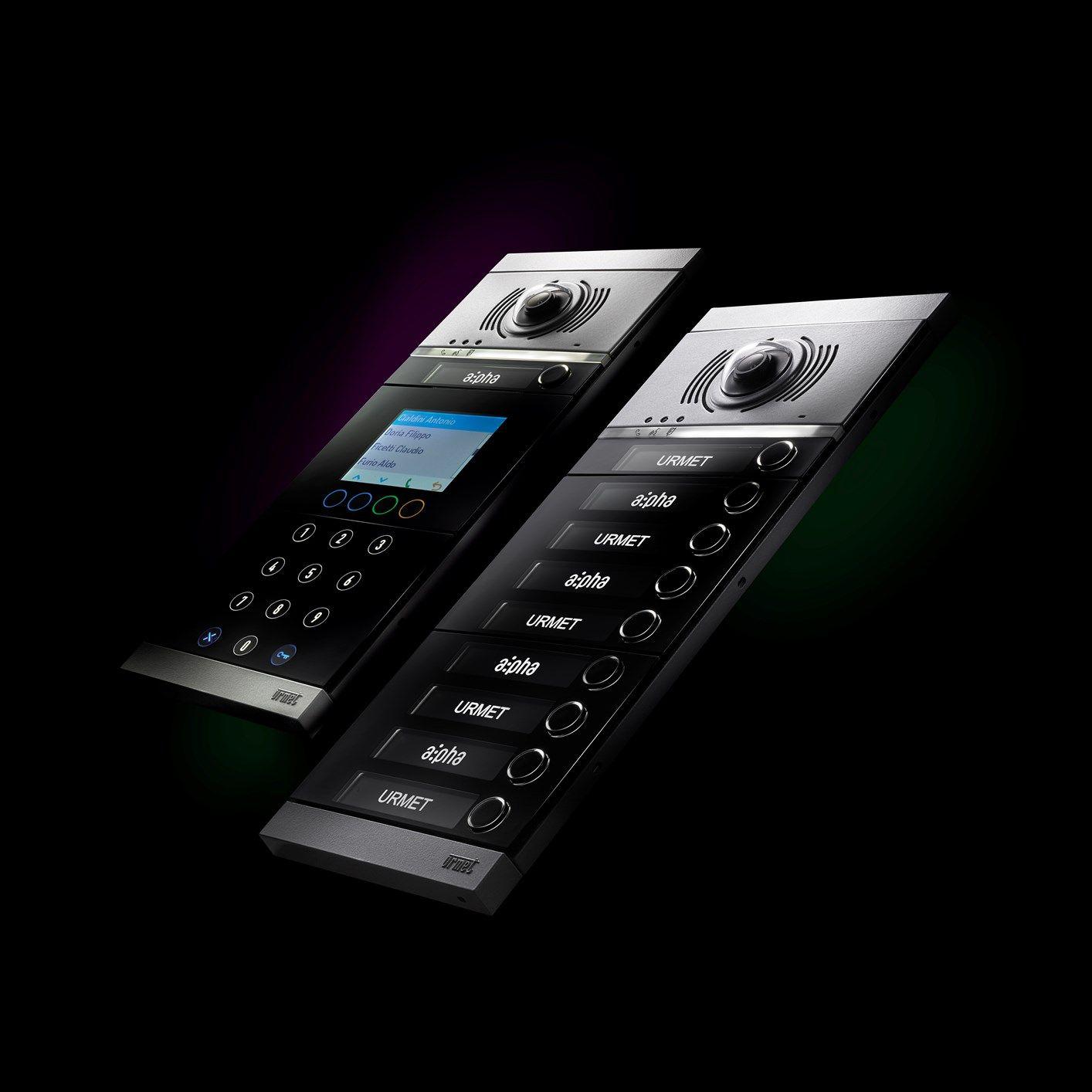Urmet presenta Alpha, la nuova linea di prodotti che rivoluziona il mondo delle pulsantiere modulari