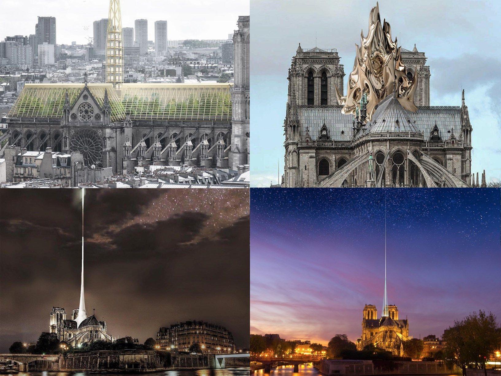 Facile Ristrutturare Opinioni Architetti notre-dame: i progetti di ricostruzione piÙ originali