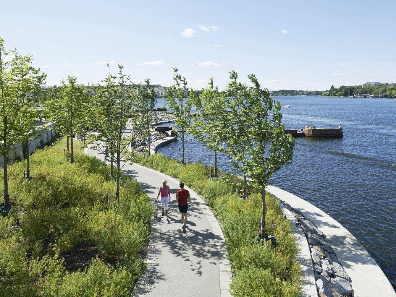 Nella foto: Hornsbergs Strandpark by Nyréns Arkitektkontor - © photo Åke Eson Lindman