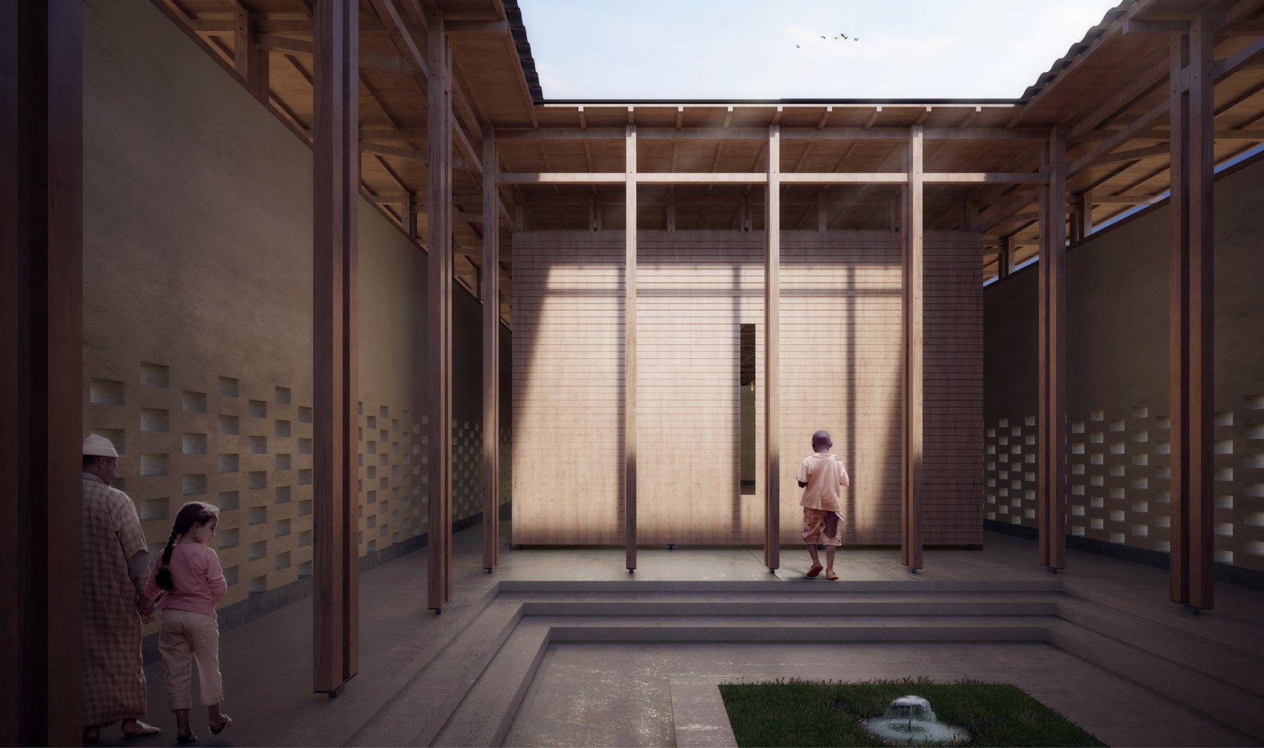 Progetto vincitore Kaira Looro Competition Peace Pavilion – Edizione 2019