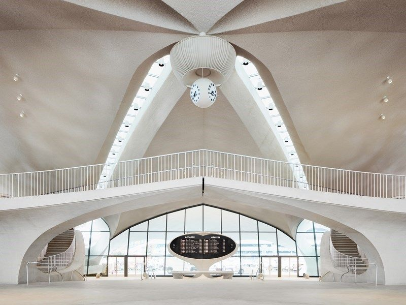 TWA Hotel al JFK: la nuova vita del Flight Center di Saarinen