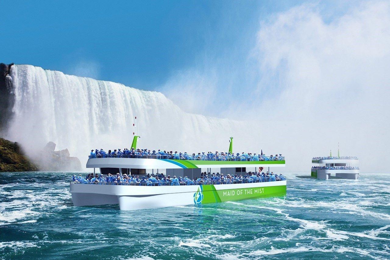 ABB fa viaggiare i turisti alle Cascate del Niagara sulle prime navi completamente elettriche costruite negli Stati Uniti