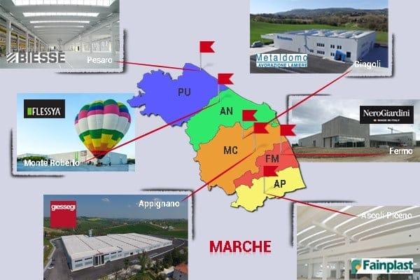 Marche: le eccellenze industriali '6A' costruiscono con Baraclit