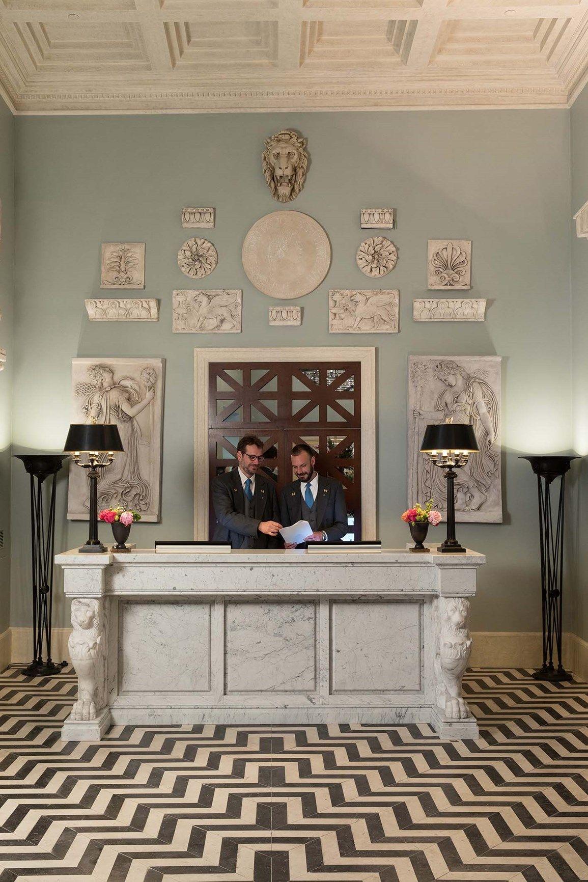 Laterlite per l'Hotel De La Ville a Roma