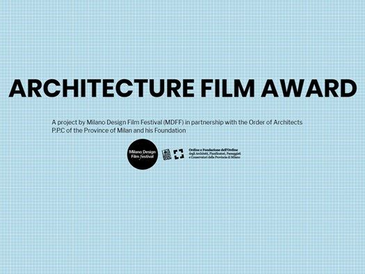 Architecture Film Award 2019
