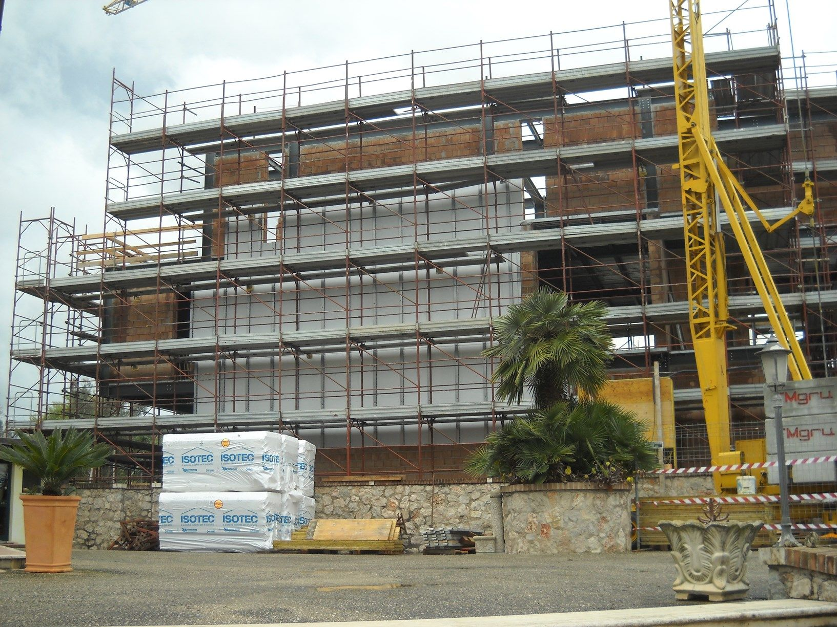 Nuova realizzazione residenziale a Cisterna di Latina con Isotec