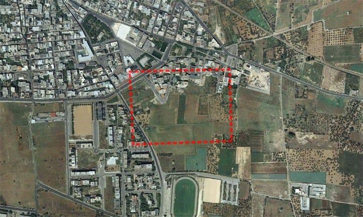 Area di progetto - Capurso (Ba)
