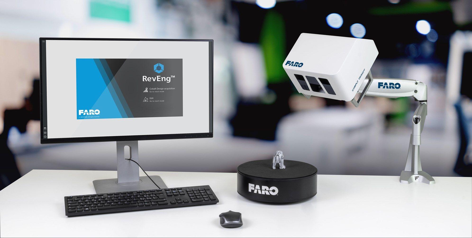CAM2® presenta la soluzione di scansione 3D Cobalt Design
