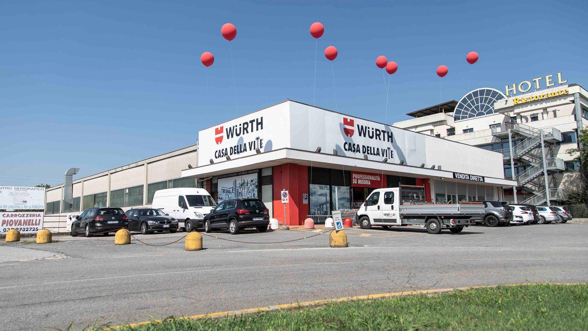 Inaugurata la prima 'Casa della Vite' di Würth Italia