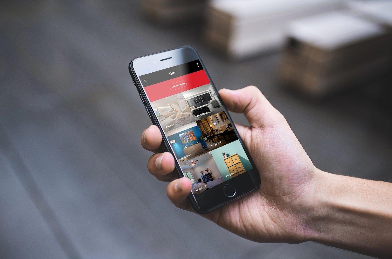 Go.Color: l'app che permette di applicare il colore alle pareti direttamente da smartphone