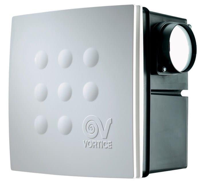 Le serie VORT QUADRO: gli aspiratori centrifughi da condotto e da incasso