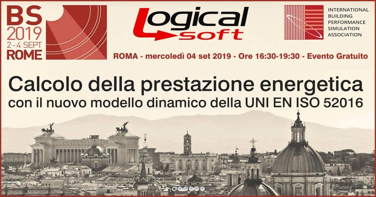 Logical Soft a BS - Building Simulation 2019 il 4 settembre a Roma