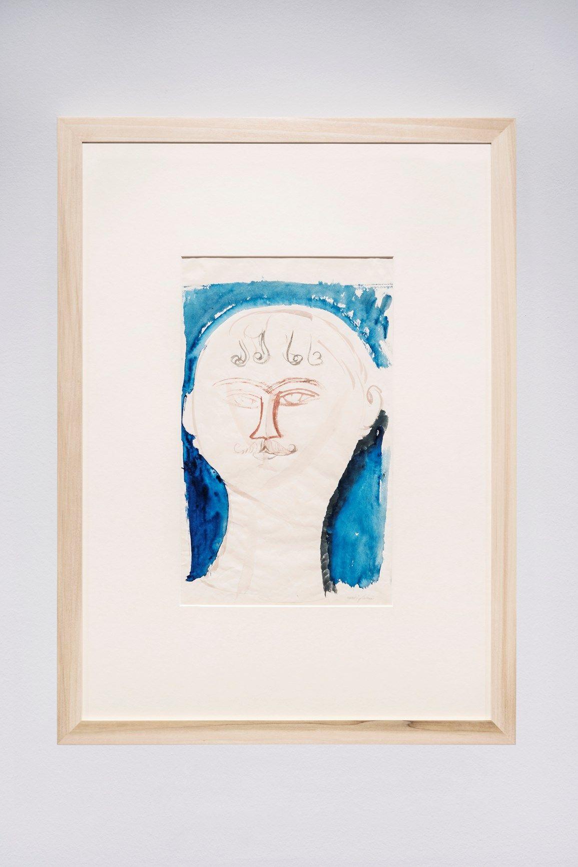 Nel Novecento_Amedeo Modigliani_Il gendarme_1913-1915_grafite e acquerello su carta