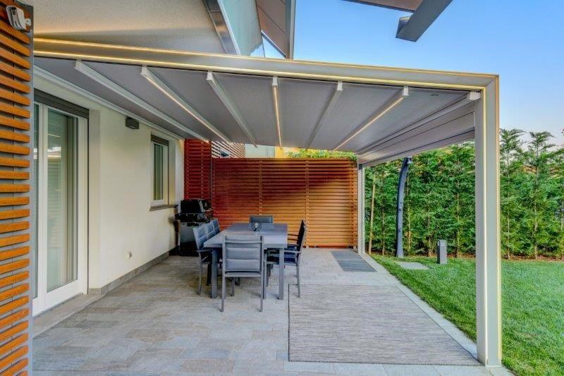 KE presenta GENNIUS VEGA: la tenda a pergola in cui la luce diventa un innovativo elemento d'arredo