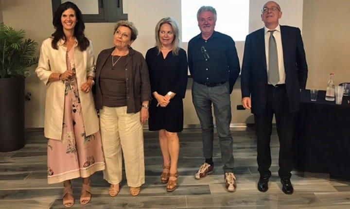 Senatrice Toffanin, Laura Michelini Presidente ANFIT e Caseitaly, Onorevole Baroni, Fabio Gasparini Presidente ASSITES e Angelo Artale DG FINCO